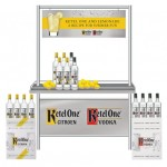 Ketel One and Lemonade Display